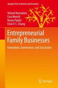 Cover Entrepreneurial Family Businesses