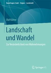 Cover Landschaft und Wandel