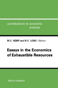 Cover Essays in the Economics of Exhaustible Resources