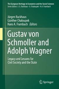 Cover Gustav von Schmoller and Adolph Wagner