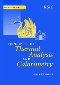 Cover Principles of Thermal Analysis and Calorimetry