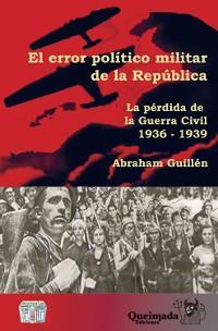 Cover El error político militar de la República