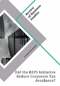 Cover Did the BEPS Initiative Reduce Corporate Tax Avoidance?