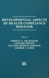 Cover Developmental Aspects of Health Compliance Behavior