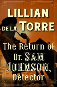 Cover Return of Dr. Sam Johnson, Detector