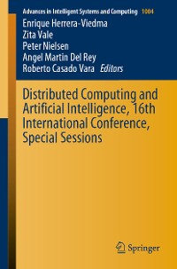 Cover Distributed Computing and Artificial Intelligence, 16th International Conference, Special Sessions
