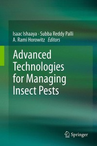 Cover Advanced Technologies for Managing Insect Pests