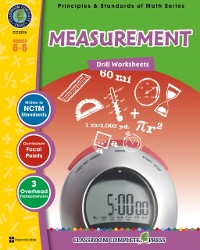 Cover Measurement - Drill Sheets Gr. 6-8
