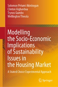 Cover Modelling the Socio-Economic Implications of Sustainability Issues in the Housing Market