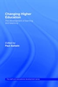 Cover Changing Higher Education