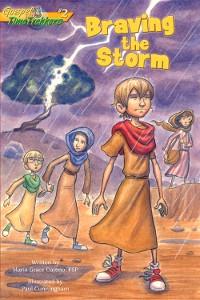 Cover Braving the Storm (Gospel Time Trekkers #2)