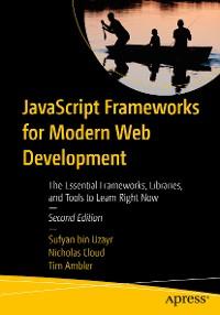Cover JavaScript Frameworks for Modern Web Development