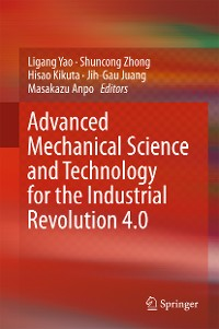 Cover Advanced Mechanical Science and Technology for the Industrial Revolution 4.0