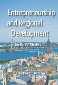 Cover Entrepreneurship and Regional Development