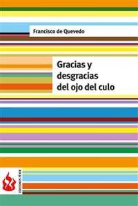Cover Gracias y desgracias del ojo del culo (low cost). Edición limitada