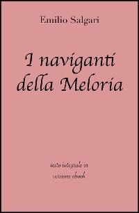 Cover I naviganti della Meloria di Emilio Salgari in ebook