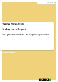 Cover Scaling Social Impact