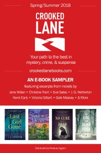 Cover Crooked Lane Books Spring 2018 Digital Sampler
