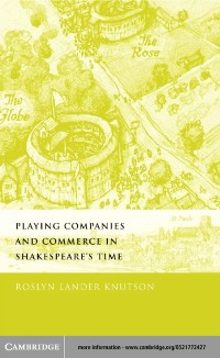 Cover Playing Companies and Commerce in Shakespeare's Time