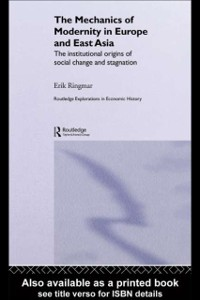 Cover Mechanics of Modernity in Europe and East Asia