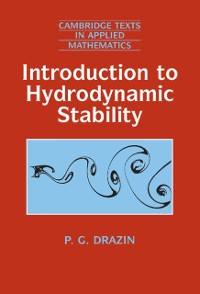 Cover Introduction to Hydrodynamic Stability
