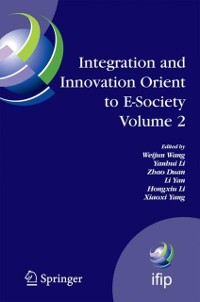 Cover Integration and Innovation Orient to E-Society Volume 2