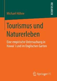 Cover Tourismus und Naturerleben