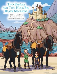 Cover Two Princes and Two Huge Big Black Stallions