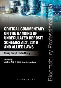 Cover Critical Commentary on the Banning of Unregulated Deposit Schemes Act, 2019 and Allied Laws