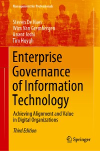 Cover Enterprise Governance of Information Technology