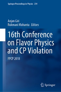 Cover 16th Conference on Flavor Physics and CP Violation