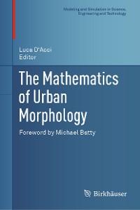 Cover The Mathematics of Urban Morphology