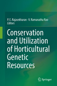 Cover Conservation and Utilization of Horticultural Genetic Resources