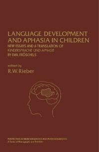 Cover Language Development and Aphasia in Children