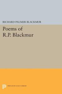 Cover Poems of R.P. Blackmur
