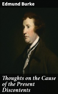 Cover Thoughts on the Cause of the Present Discontents