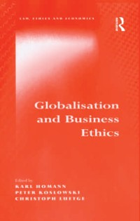 Cover Globalisation and Business Ethics
