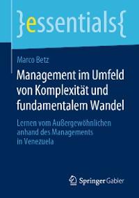 Cover Management im Umfeld von Komplexität und fundamentalem Wandel