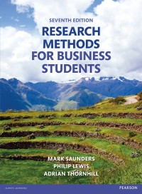 Cover Research Methods for Business Students