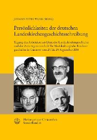 Cover Persönlichkeiten der deutschen Landeskirchengeschichtsschreibung