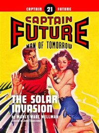 Cover Captain Future #21: The Solar Invasion