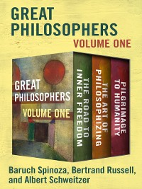 Cover Great Philosophers Volume One