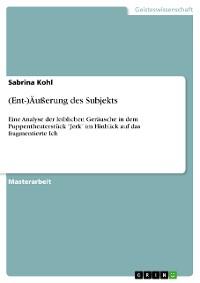 Cover (Ent-)Äußerung des Subjekts