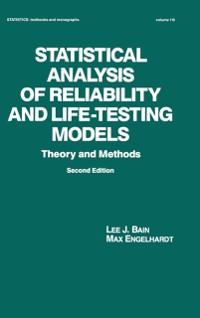 Cover Statistical Analysis of Reliability and Life-Testing Models