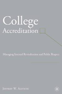 Cover College Accreditation