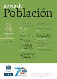 Cover Notas de Población Año XLV No.106 Enero-Junio de 2018