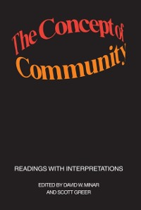 Cover Concept of Community