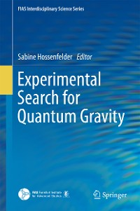 Cover Experimental Search for Quantum Gravity
