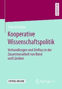 Cover Kooperative Wissenschaftspolitik