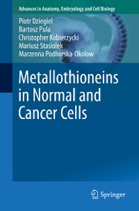 Cover Metallothioneins in Normal and Cancer Cells